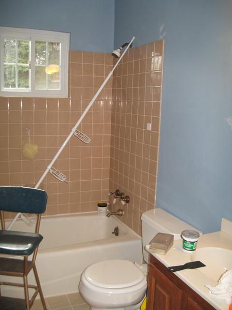 blue bath before