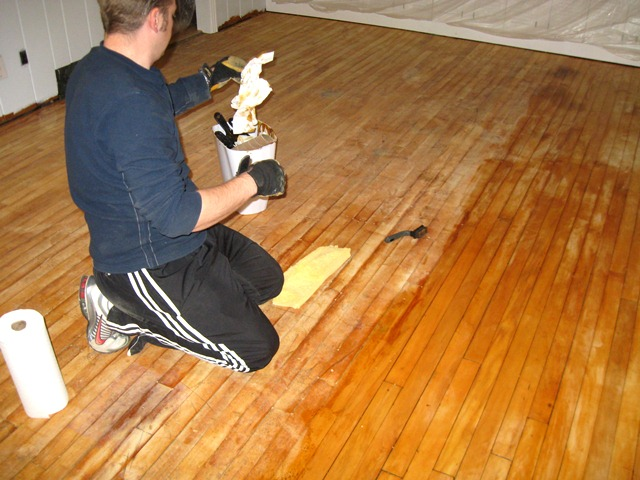 Amazing Hardwood Floor Stripping Part - 4: Pine Wood Floor Family Style Living
