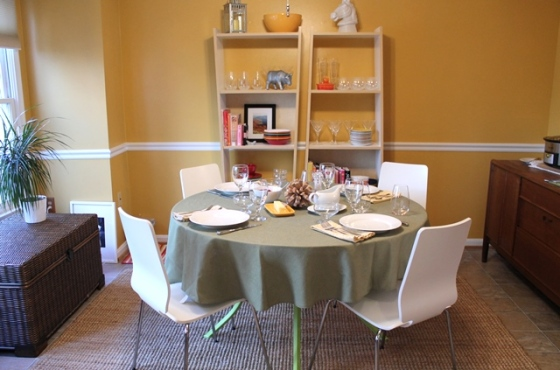table set dining rm