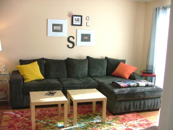 sofa wall
