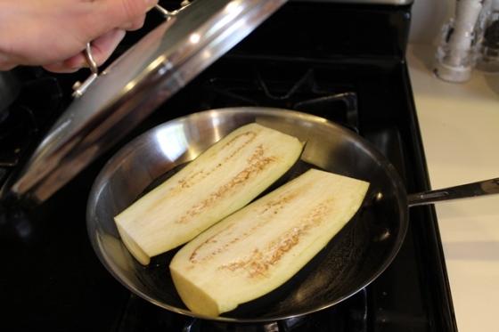 steam eggplant