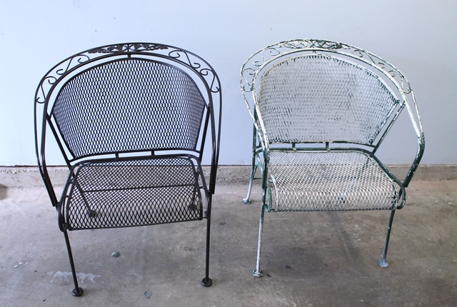 Refinishing Wrought Iron Furniture Family Style Living