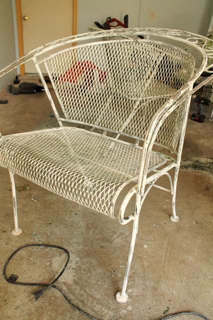 Stripping Paint From Metal Furniture Family Style Living
