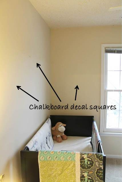 crib corner before with text