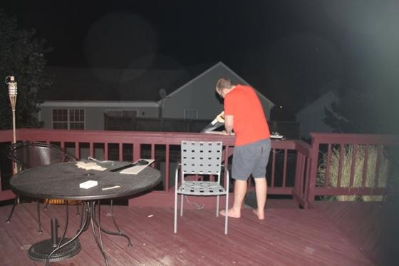 handsaws at night